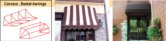 Omnimark Awnings Concave
