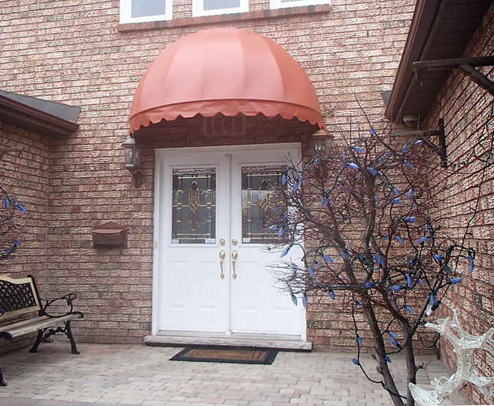 Omnimark Awnings Traditional Dome Awning