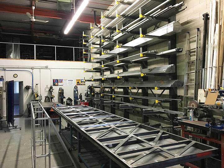 Awnings Fabrication Shop